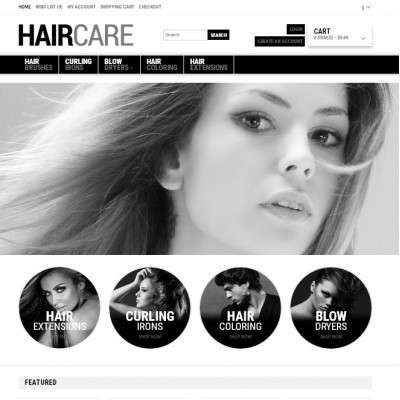 Website Hair Salon 01